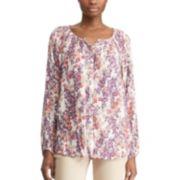 Women's Chaps Tropical Floral Shirt