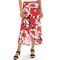 Women's Apt. 9® Printed Tulip Skirt