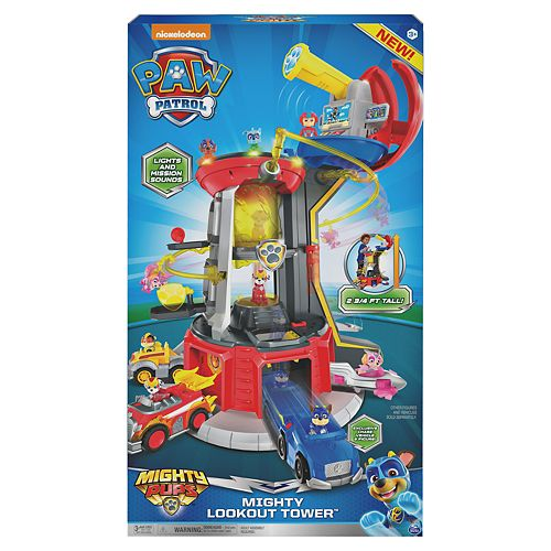 Spin Master Paw Patrol Mighty Lookout Tower by Spin Master