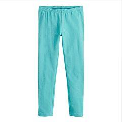 Girls 4-10 Jumping Beans® Glittery Full-Length Leggings