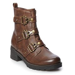 ac2e3a64b3d SO® Monique Women's Buckle Boots