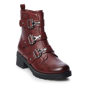 SO® Monique Women's Combat Boots
