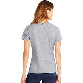 Women's Hanes Tri-Blend Graphic V-Neck Tee