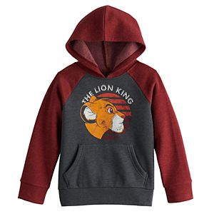 Disney?s The Lion King Boys 4-12 Simba Raglan Fleece Pullover Hoodie By Jumping Beans