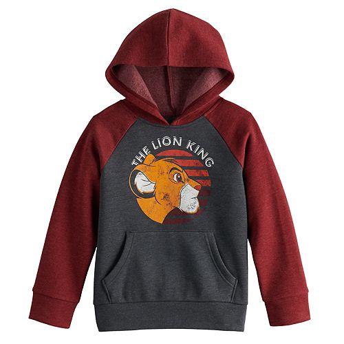 Boys 4-12 Jumping Beans® Raglan Fleece Pullover Hoodie