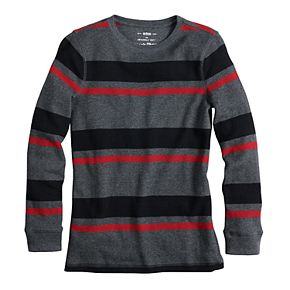Boys 8-20 Urban Pipeline? Striped Thermal Top