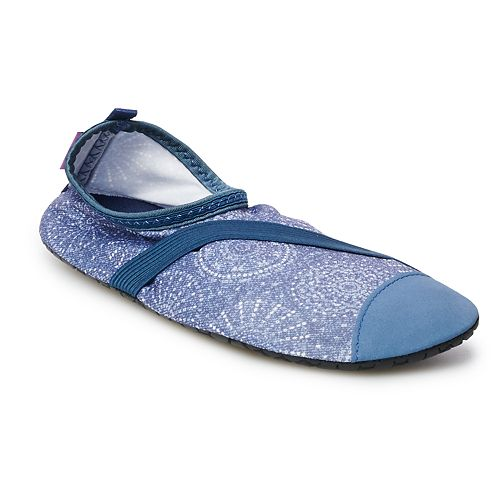FitKicks Live Well Active Footwear Women's Patterned Slip-On Shoes
