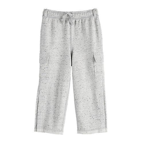 Toddler Boy Jumping Beans® Adaptive Cargo French Terry Pants