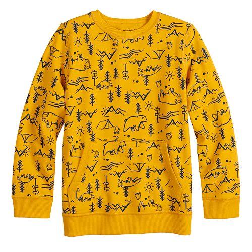 Toddler Boy Jumping Beans® Adaptive Fleece Sweatshirt