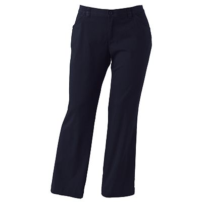 Lee Comfort Waist Straight Leg Pants - Women's Plus