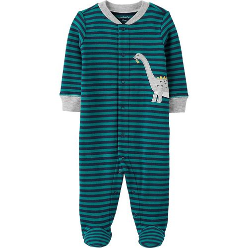 Baby Boy Carter's Dinosaur Snap-Up Sleep & Play