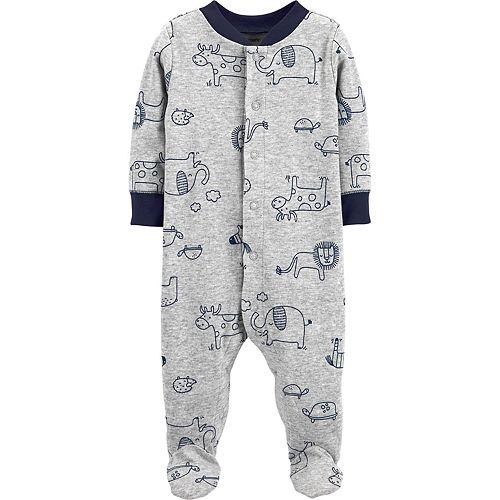 Baby Boy Carter's Animals Snap-Up Sleep & Play
