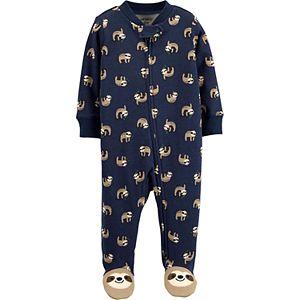 Baby Boy Carter's Sloth 2-Way Zip Sleep & Play