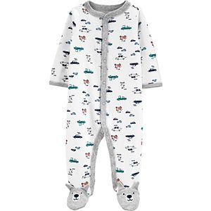 Baby Boy Carter's Dogs & Cars Snap-Up Sleep & Play