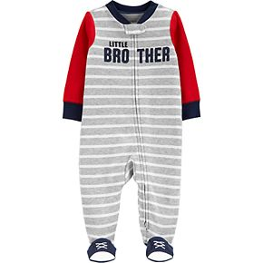 Baby Boy Carter's Little Brother 2-Way Zip Sleep & Play