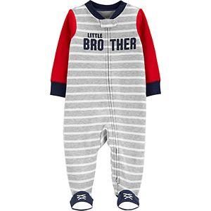 Baby Boy Carter's Little Brother 2-Way Zip Sleep & Play