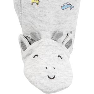 Baby Carter's Giraffe Snap-Up Cotton Sleep & Play
