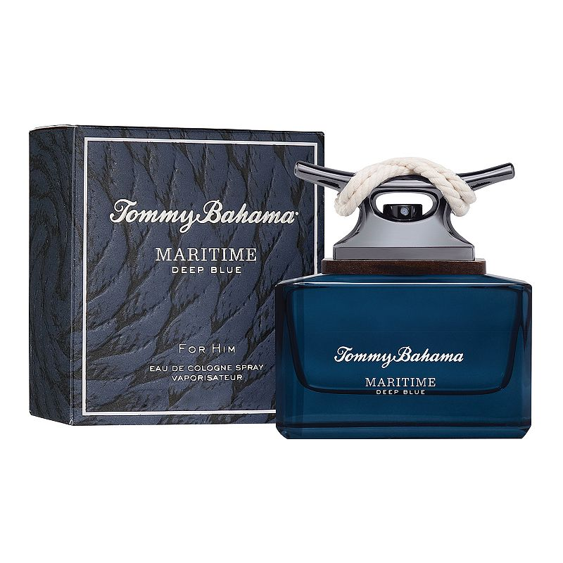 oversizeTommy Bahama Maritime Men's Cologne - Eau de Cologne, Size: 2.5Oz Accept an invitation to discover the deepest waters from Tommy Bahama. Maritime Deep Blue is the latest men's cologne to explore the big blue ocean. Adventure into the essence of this woody and fresh men's fragrance that reflects the fluidity and spirit of the sea. FRAGRANCE NOTES Top: Rosemary, Juniper Oil, Citrus Bergamot, and Cardamom Middle: Geranium, Orris, Sheer Freesia, and Water Lily Base: Moss, Musk, Cedarwood, and Patchouli FRAGRANCE DETAILS 2.5 oz Due to its contents, this product cannot be shipped via our Priority Service or sent to Alaska, Hawaii, and/or APO/FPO military addresses. Size: 2.5Oz. Color: Multicolor. Gender: male. Age Group: adult. Material: Boxed.