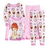 Toddler Girl's Disney's Fancy Nancy Top & Bottom Pajama Set