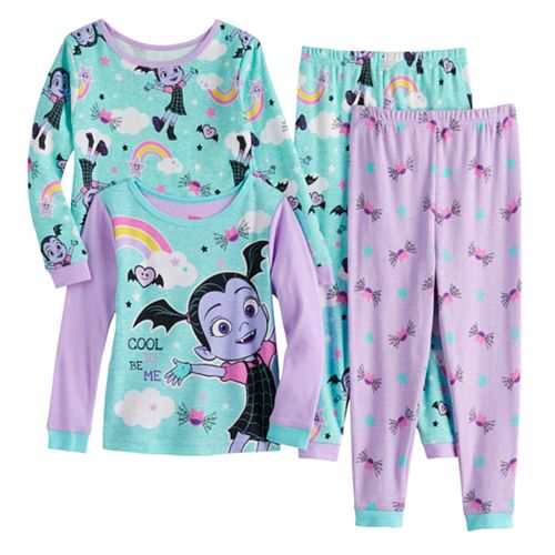 Toddler Girl's Disney's Vampirina Top & Bottom Pajama Set