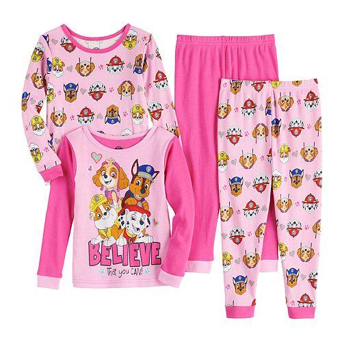 Toddler Girl's PAW Patrol Top & Bottom Pajama Set