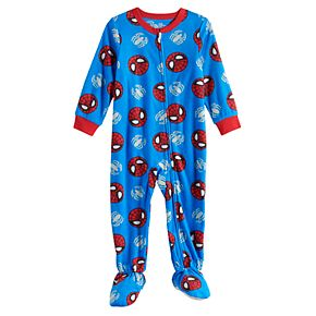 Toddler Boy Marvel Spider-Man Fleece Footed Pajamas