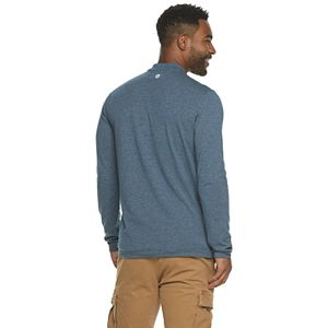 Men's Hi-Tec Silver Bay Tech Modern-Fit Thermal Henley