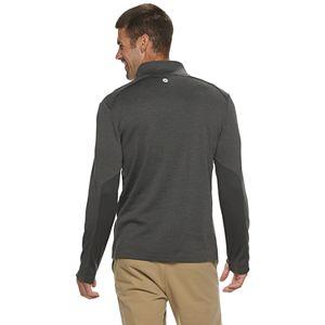 Men's Hi-Tec Pederson Modern-Fit Mesh Back Ribbed Quarter-Zip Pullover