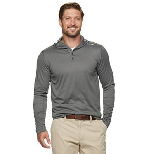 Men's Hi-Tec Modern-Fit Performance Henley Hoodie