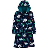 Boys 6-12 Carter's Animal Hooded Fleece Robe