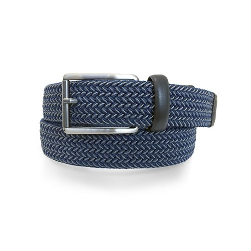 Men's Apt. 9® Navy Elastic Belt