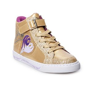 Disney D-Signed Royalty Rules Girls' High Top Shoes