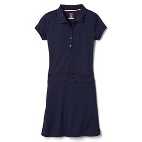 Girls French Toast Short Sleeve Polo Dress
