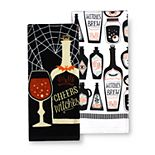 Celebrate Halloween Together Witch's Brew Kitchen Towel 2-pk.