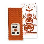 Celebrate Halloween Together Happy Halloween Kitchen Towel 2-pk.
