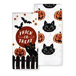 Celebrate Halloween Together Trick-or-Treat Kitchen Towel 2-pk.