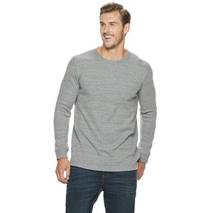 Big & Tall SONOMA Goods for Life® Modern-Fit Thermal Crewneck Pullover