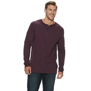 Big & Tall SONOMA Goods for Life® Supersoft Modern-Fit Thermal Henley