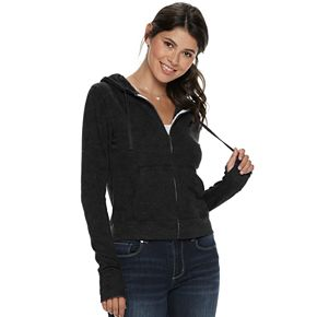 Juniors SO® Favorite Zip Up Hoodie