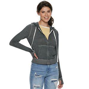 Juniors SO® Favorite Zip Up Hoodie