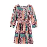 Girls 7-16 Mudd® Printed Peasant Dress