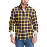 Men's Chaps Classic-Fit Performance Flannel Button-Down Shirt