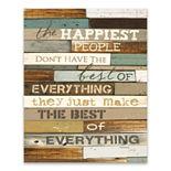 Artissimo Happiest People Wood/MDF Box