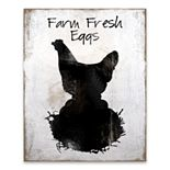 Artissimo Farm Fresh Eggs Wood Box