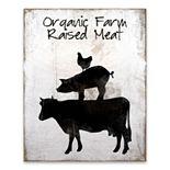 Artissimo Organic Farm Raised Meat Wood Box