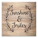 Artissimo Sunshine & Smiles Wood Box