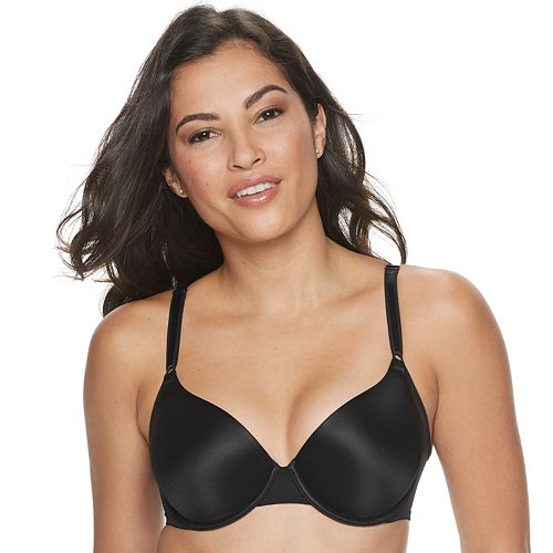 Women's Warner's No Side Effects® Underwire Contour Bra With Mesh Wing RA3471A