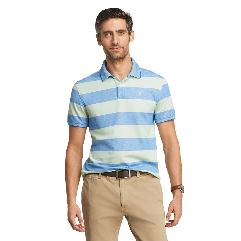 Men's IZOD Sportswear Advantage Classic-Fit Striped Performance Polo
