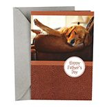 Hallmark Father's Day Card (Sleeping Dog, Relaxing Days)