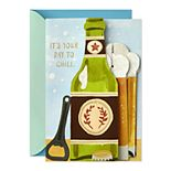 Hallmark Paper Wonder Pop Up Father's Day Card (Beer)